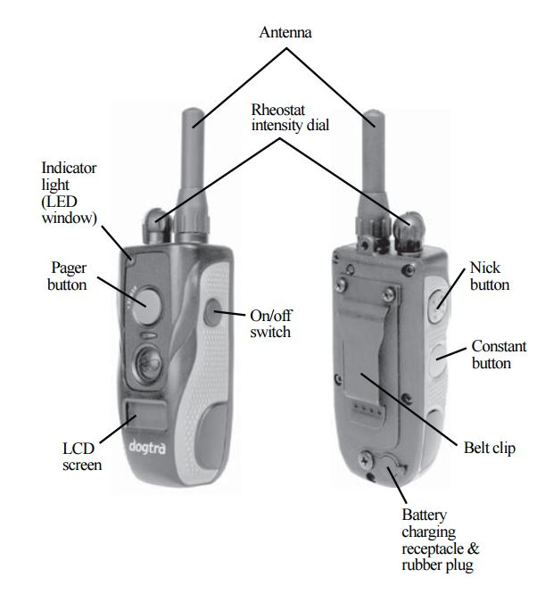 Dogtra 2300NCP Advance transmitter