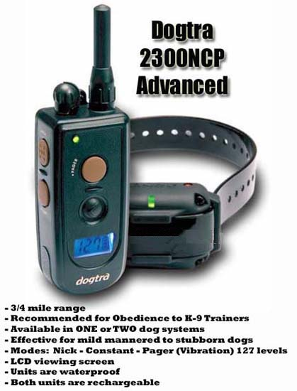 Dogtra 2300NCP Advance collar