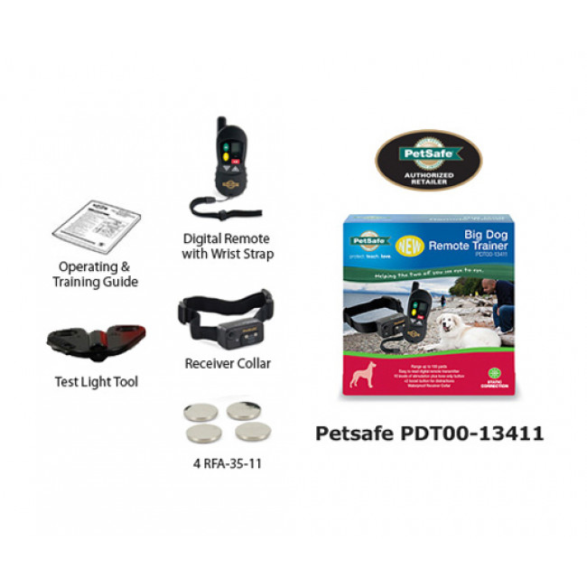 Petsafe Deluxe Remote Trainer for Big Dogs – Best Dog Training Collars Features