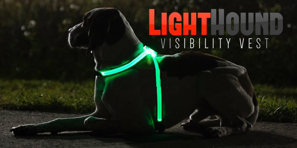 LIGHTED DOG Reflective  VEST
